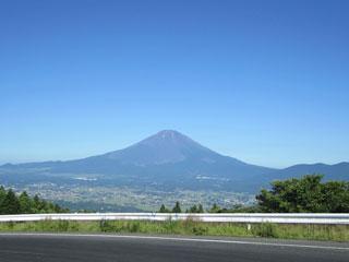 下りの富士山