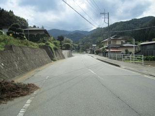 道坂上り口
