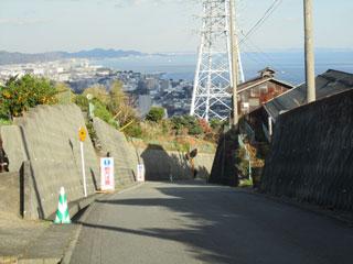 石垣山・下り方向