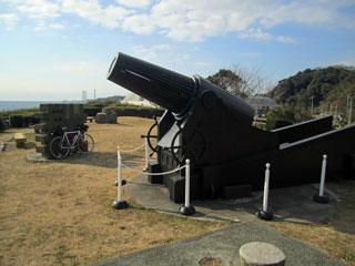 観音崎公園 28サンチ砲