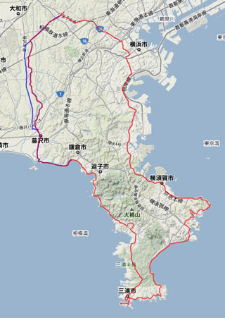 2012/01の走行記録