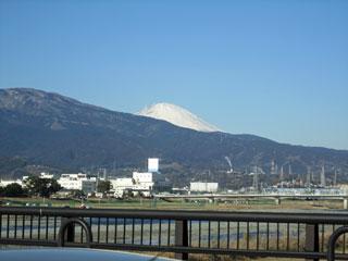 酒匂川から富士山