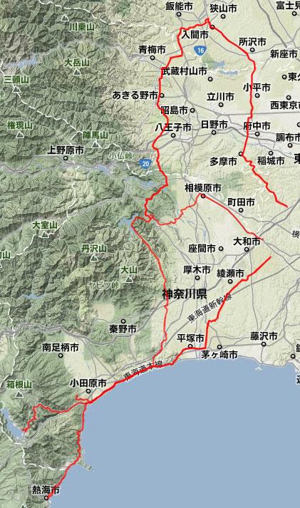 2012/02の走行記録
