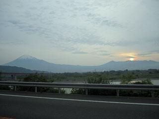 富士山 富士川SA