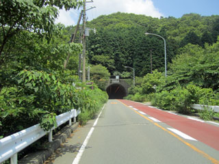 冷川トンネル