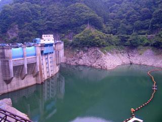 二瀬ダム(秩父湖)