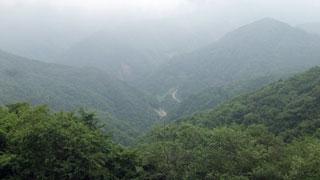 松姫峠から見下ろし