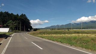 富士見峠から先