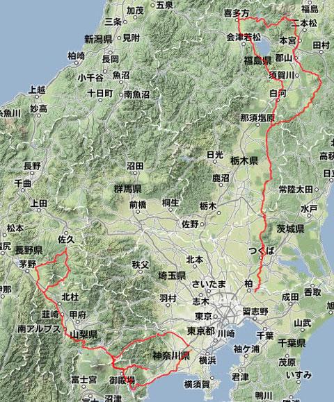 2012/09の走行記録