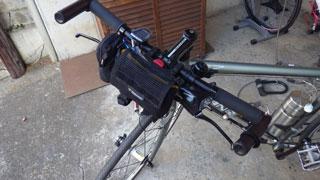 自転車に装着
