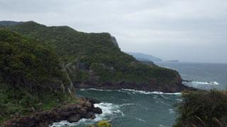 伊豆東側の海岸線
