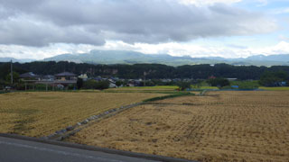 韮崎のあたり