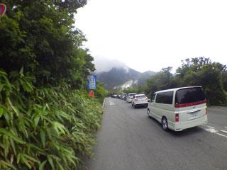 渋滞(往路)