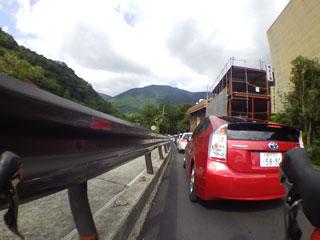 渋滞(復路)